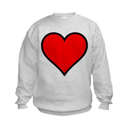 Simple Heart Kids Sweatshirt