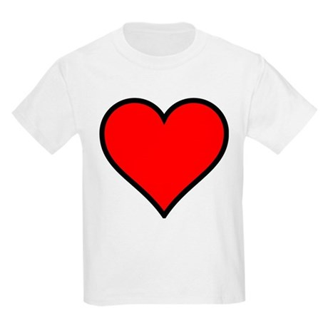 Simple Heart Kids Light T-Shirt