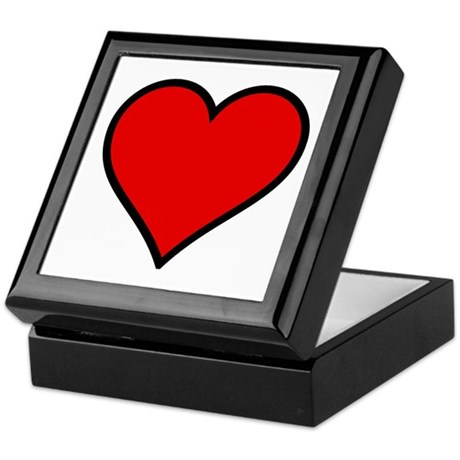 Simple Heart Keepsake Box