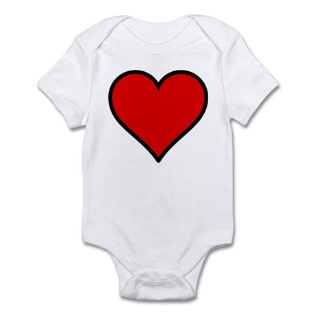 Simple Heart Infant Bodysuit