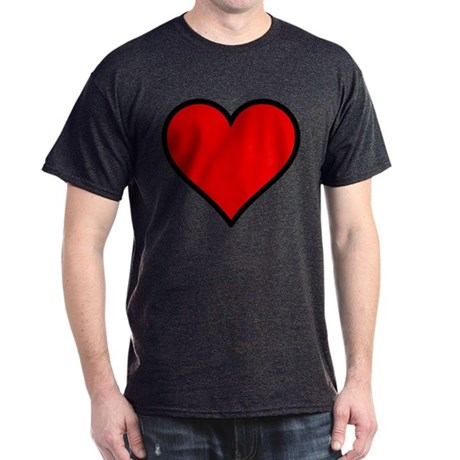 Simple Heart Dark T-Shirt