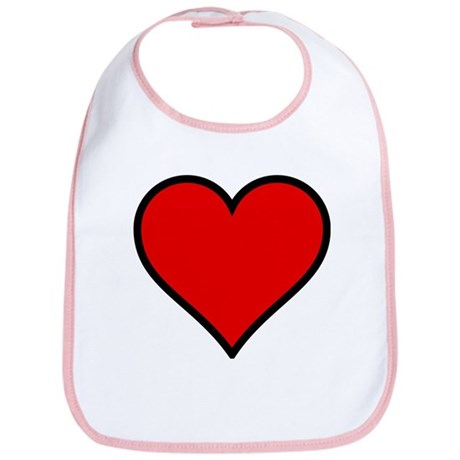 Simple Heart Bib