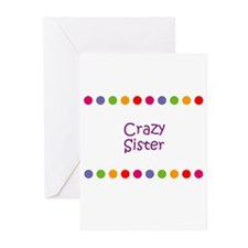 Crazy Sister Greeting Cards (Pk of 10)