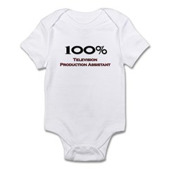 100 Percent Television Production Assistant Infant