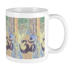 Zen Collage OM Art  Mug