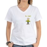 Ah Crap Women's V-Neck T-Shirt