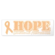 Leukemia Awareness Bumper Bumper Sticker