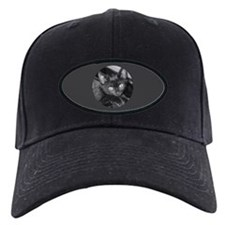 Cute Black Kitty Baseball Hat