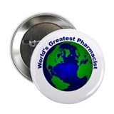"World's Greatest Pharmacist 2.25"" Button"