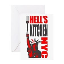 Cute Hells kitchen nyc Greeting Card