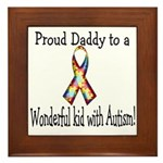 proud Dad! Framed Tile