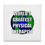 World's Greatest Physical The Tile Coaster