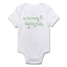 """My Big Brother is a Siberian Infant Bodysuit"