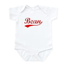 Vintage Bean (Red) Infant Bodysuit