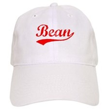 Vintage Bean (Red) Baseball Cap