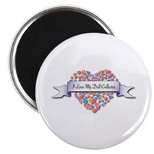 "Love My Doll Collector 2.25"" Magnet (100 pack"