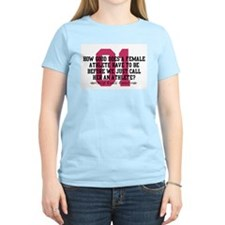 Female Athlete Quote T-Shirt