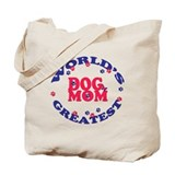 Dog Mom Tote Bag - Red