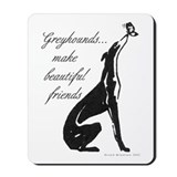 Greyhound Mousepad/Butterfly