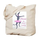 Greyhound Tote Bag/Dance
