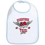 Everyone loves a Trini Girl Bib