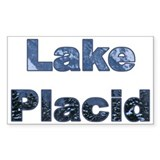 Lake Placid Rectangle Decal