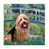 Bridge-AussieTerrier Tile Coaster