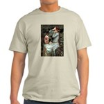 Ophelia-Aussie Terrier Light T-Shirt