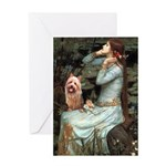 Ophelia-Aussie Terrier Greeting Card