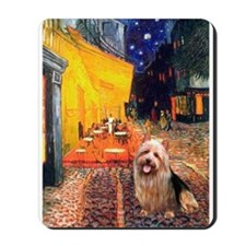 Cafe-AussieTerrier Mousepad