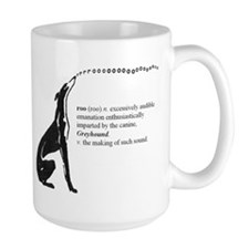 Greyhound Mug/Roo