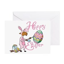 Easter Egg Goat Greeting Cards (Pk of 20)