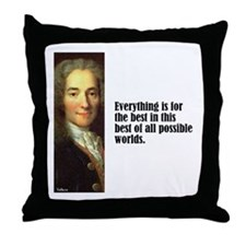 "Voltaire ""Best of All"" Throw Pillow"