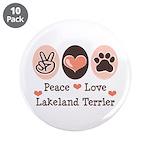 Peace Love Lakeland Terrier 3.5