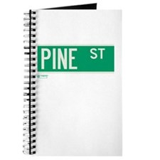 Pine Street in NY Journal