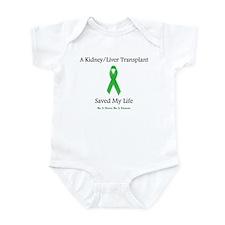 Kidney/Liver Transplant Infant Bodysuit