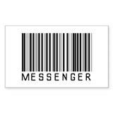 Messenger Barcode Rectangle Decal