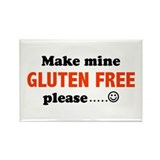 gluten free Rectangle Magnet