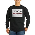 100 Percent Shoemaker Long Sleeve Dark T-Shirt