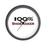 100 Percent Shoemaker Wall Clock