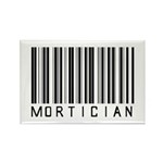 Mortician Barcode Rectangle Magnet (10 pack)