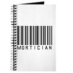 Mortician Barcode Journal