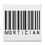 Mortician Barcode Tile Coaster