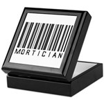 Mortician Barcode Keepsake Box