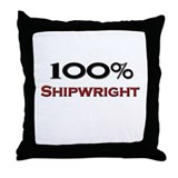 100 Percent Shipwright Throw Pillow
