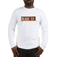 Reade Street in NY Long Sleeve T-Shirt
