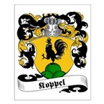 Koppel Family Crest Small Poster