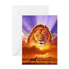 Lion King Greeting Card