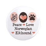 Peace Love Norwegian Elkhound 3.5
