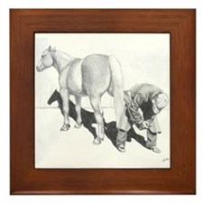 FARRIER Framed Tile